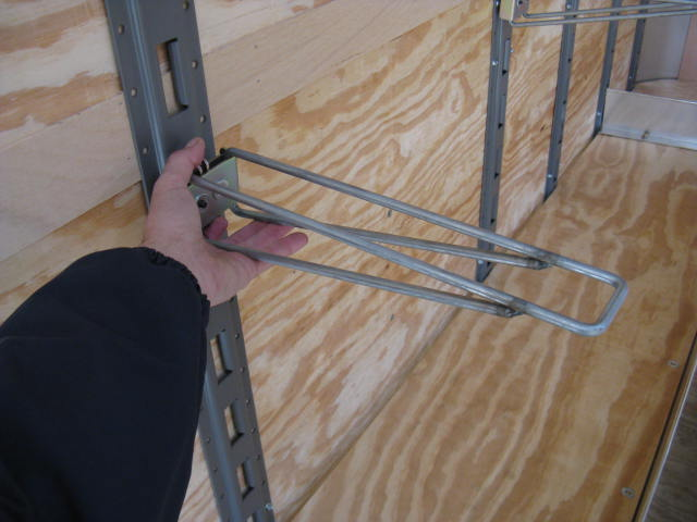 Wired Shelf Bracket Snap Rack
